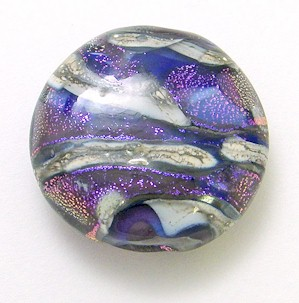 Celestial Series Bead in Deep Blues