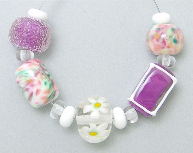 Garden Party Bead Set w/ Rubino