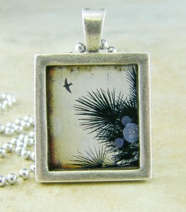 Fly Blackbird Fly Pendant