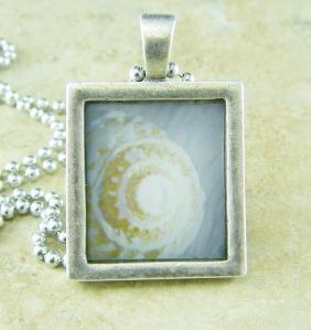 Spiral Shell Pendant