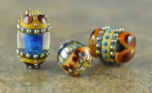 Barcelona oval bead trio