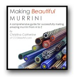 handmade glass murrini tutorial, lampwork ebook