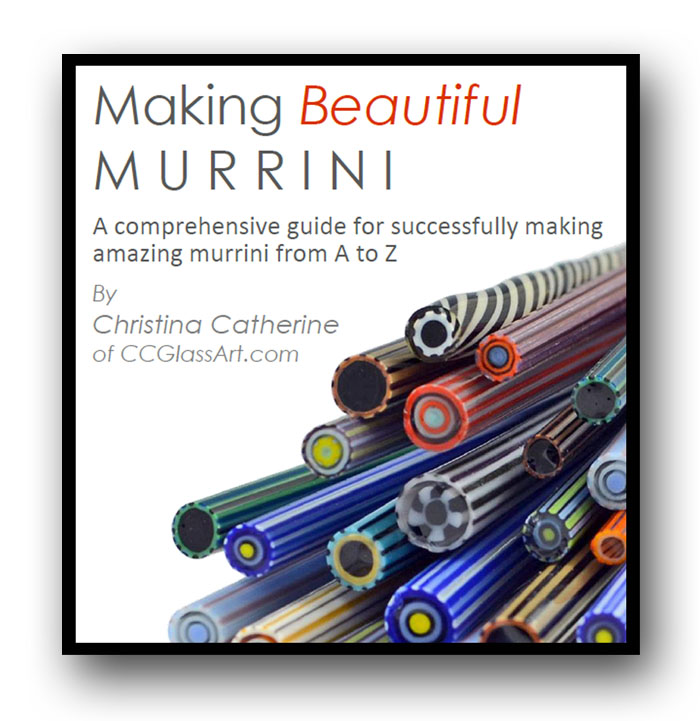 learn to make beautiful murrini cane yourself