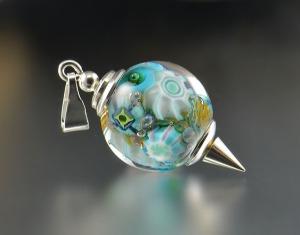 ARCTIC REEF - bead pendant
