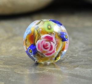 Avonlea - round focal bead