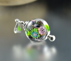 CANCUN REEF - bead pendant