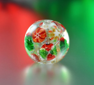 HOLIDAY SPARKLE - bead focal