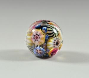 Pink Sand Reef - focal bead