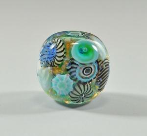 Waimea Bay Reef - focal bead