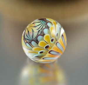 BEACHCOMBER - large round focal bead