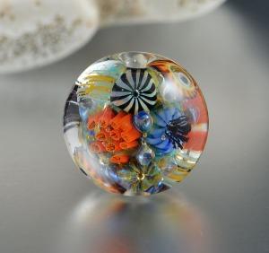 KAILUA REEF - round focal bead