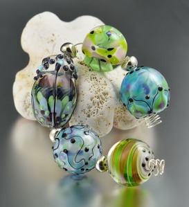 BEACH WALK - assorted bead collection
