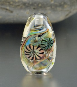 LEO CARRILLO - lampwork focal bead