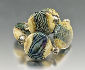 SEA GRASS - bead set (5)