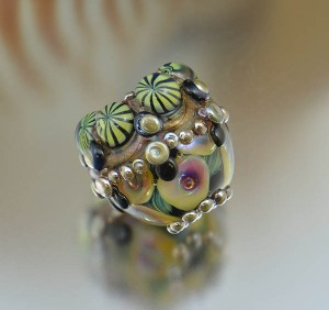 Starlight Crown - ornate focal bead