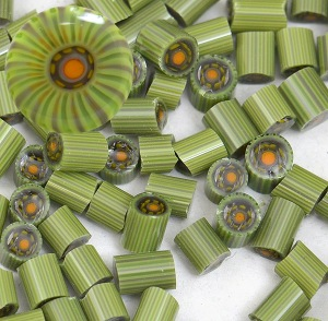 handmade glass murrini for lampworking torchwork flameworking handmade glass beads italian glass beads