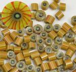 handmade italian glass murrini for lampworking torchwork flameworking handmade glass beads italian glass beads
