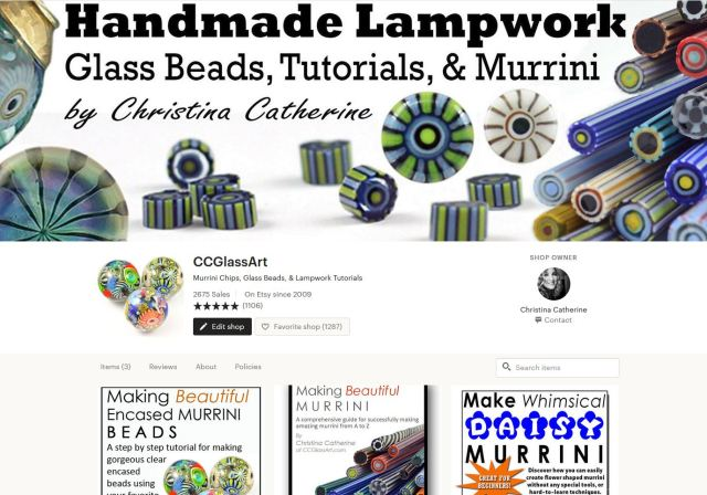 buy ccglass art murrini tutorials and lampwork beads